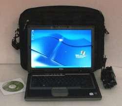 DELL LATITUDE ATG D620 C2D 2.0GHz 2GB 80GB DVD BURNER WiFi WWAN XP PRO