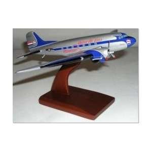 Desktop Models DC 3 United Airlines 172 Scale Model Airplane