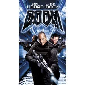 Doom [VHS] Karl Urban, Rosamund Pike, Dwayne Johnson
