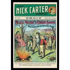 Nick Carter Black Madges Hobo Gang 20x30 poster