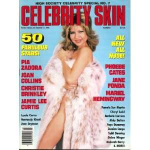 Celebrity Skin Magazine #7 PIA ZADORA, JOAN COLLINS