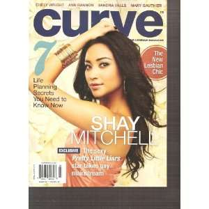 Curve Magazine (Shay Mitchell, March 2011): Various: Books