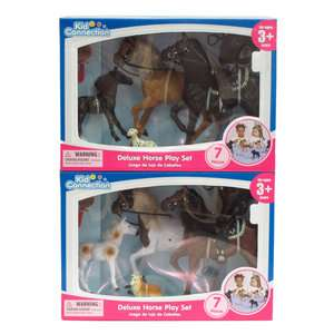 Kid Connection Deluxe Horse Play Set