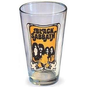 Black Sabbath Ozzy Tony Iommi Beer Soda Pint Glass New