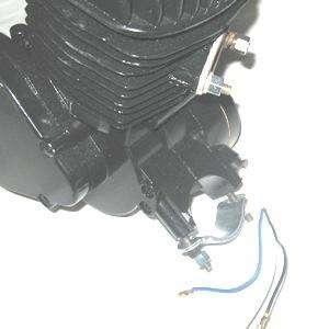 66 / 80cc BICYCLE ENGINE KIT gas motor bike BLACK Z80BK