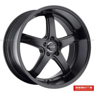 20 wheels rims AVANT GARDE M350 MATTE BLACK Staggered Wheels Rims