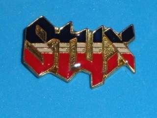 Styx Tour Hat Pin Badge Metal Enamel Rock Band Concert Pinback Dennis