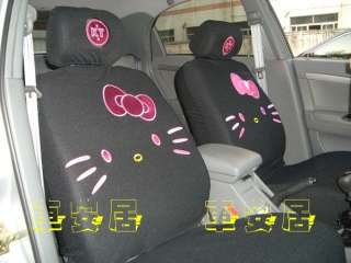 New Hello Kitty ~Flash Car Seat Covers