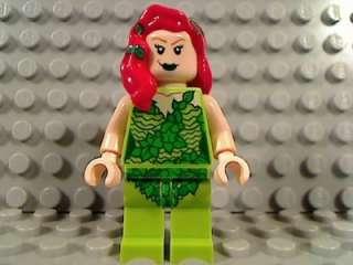 LEGO POISON IVY Female Minifigure Batman Batcave 6860 DC Universe