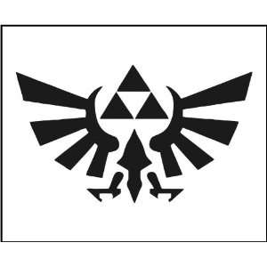 Vinyl Decal   Zelda Triforce Logo   Car, Truck, Notebook, Laptop