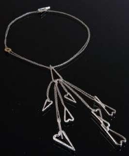 Pianegonda silver Love heart charm y necklace