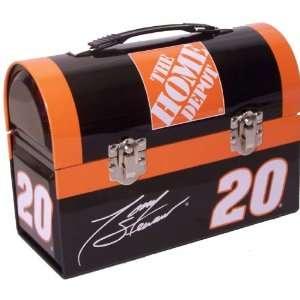Nascar Tony Stewart Dome Metal Lunch Box