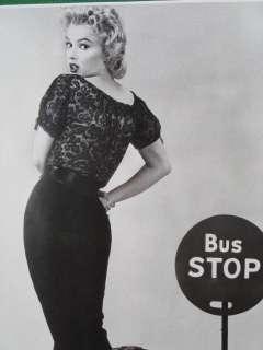 MARILYN MONROE PIN UP CALENDAR PRINT BUS STOP MINT WOW