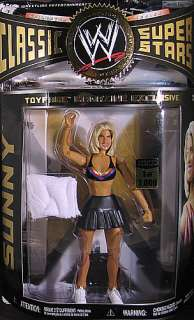 SUNNY 1/3000 BODYDONNAS EXCLUSIVE WWE TOY ACTION FIGURE