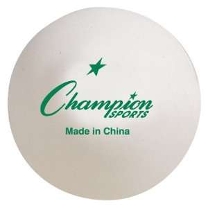 Top Grade Inst. Table Tennis Balls Ping Pong Balls