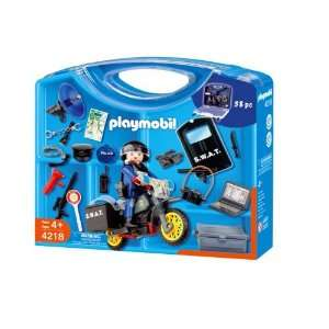 Playmobil Police Swat Take Along Carrying Case: Toys