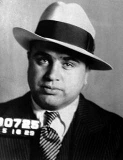 AL CAPONE CUSTOM STICK CAR WINDOW VINYL DECAL STICKER