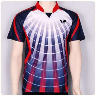 New Butterfly Men Badminton / Table Tennis 43870 Shirt