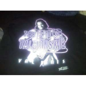 WWF WWE Large Black T Shirt Val Venis Big Valbowskie WCW