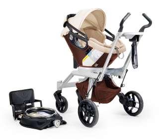 Orbit Baby Stroller Travel System G2, Mocha Orbit Baby Stroller Travel
