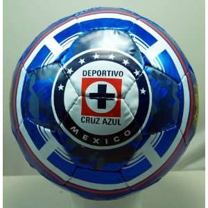 CRUZ AZUL FC OFFICIAL SIZE 5 SOCCER BALL   101: Sports