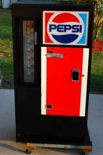 Vintage Pepsi Cola Vending Machine Soda/Coke