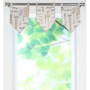 Chatsworth Collection Valances   tab top valance, Chtswrth