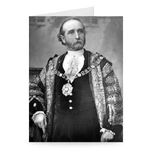 Sir James Whitehead, Lord Mayor of London,..   Greeting Card (Pack of